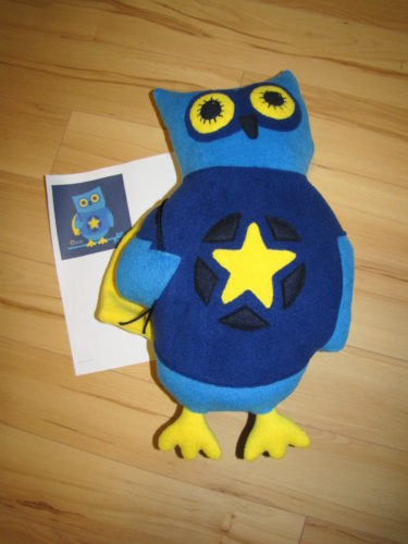 Custom Stuffed Animal from Logo