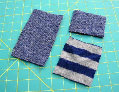 Wool Felt iPod Cozy Tutorial Step 1