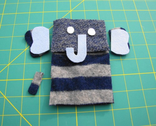 Animal iPod Cozy Tutorial Step 2