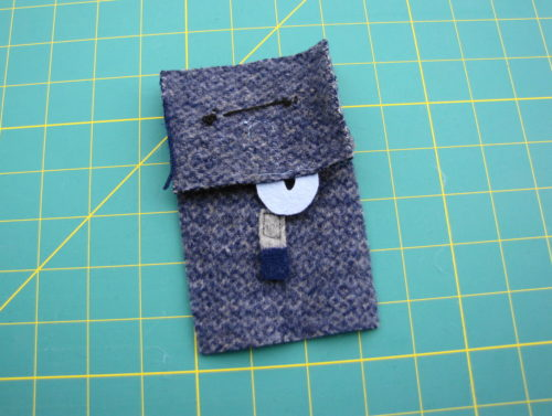 Elephant IPod Cozy Step 4