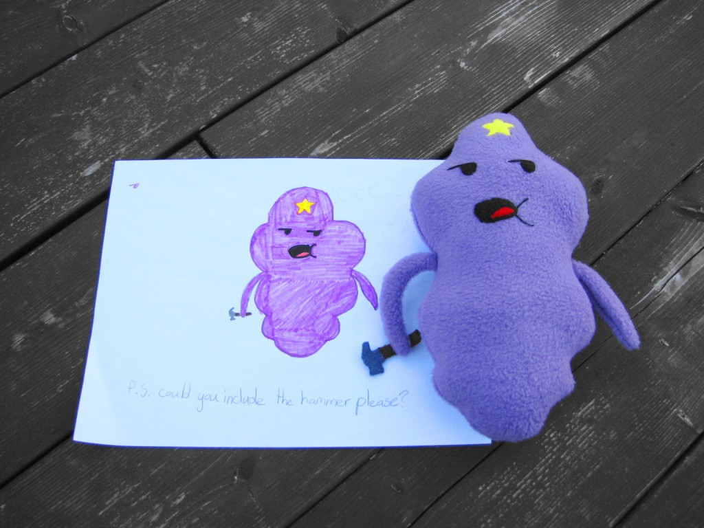 Stuffed Animal based on Children's Drawings