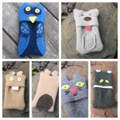 Cute Animal iPod Cozy Tutorial