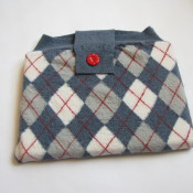 Felted Sweater Laptop Cozy Tutorial – on the Canadian Living Blog!