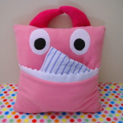 Pajama Monster Pillow Tutorial
