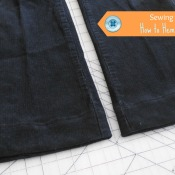 Sewing Basics: How to Hem Pants