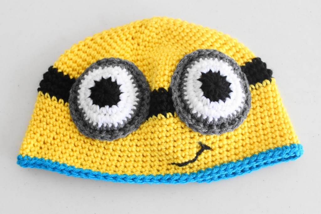 Crocheted Minion Hat