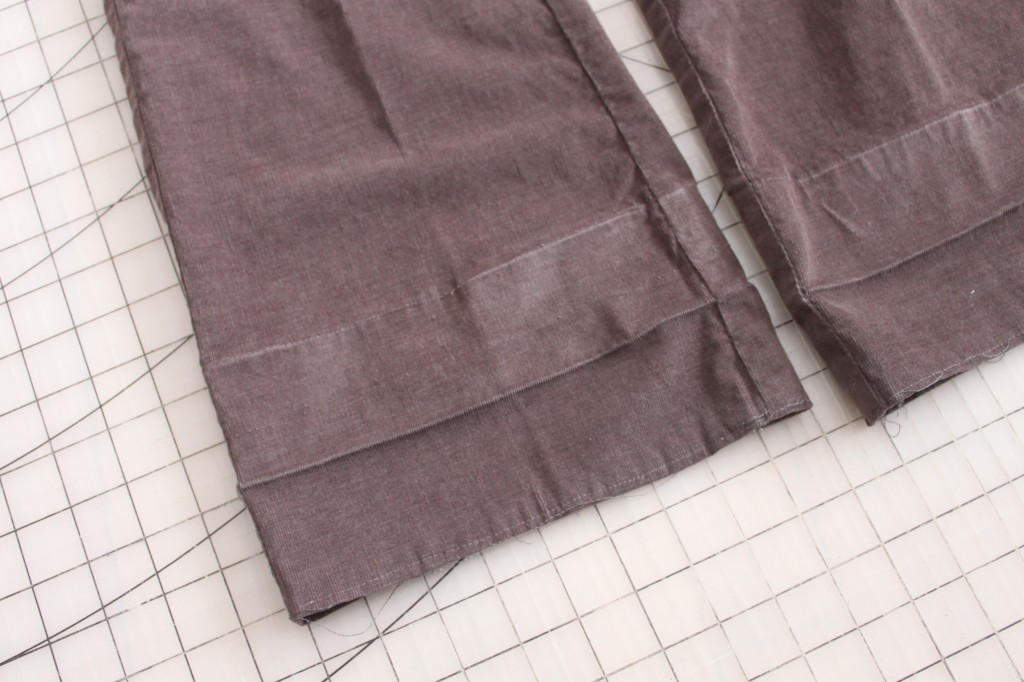 Tutorial: How to Hem Your Pants