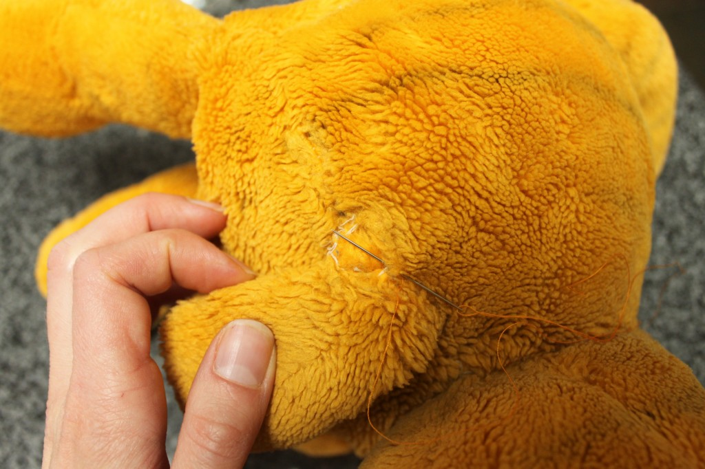 Replace a Lost Limb on a Stuffed Animal