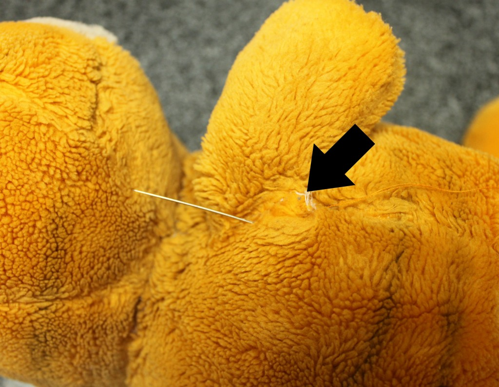 Repairing Stuffed Animals
