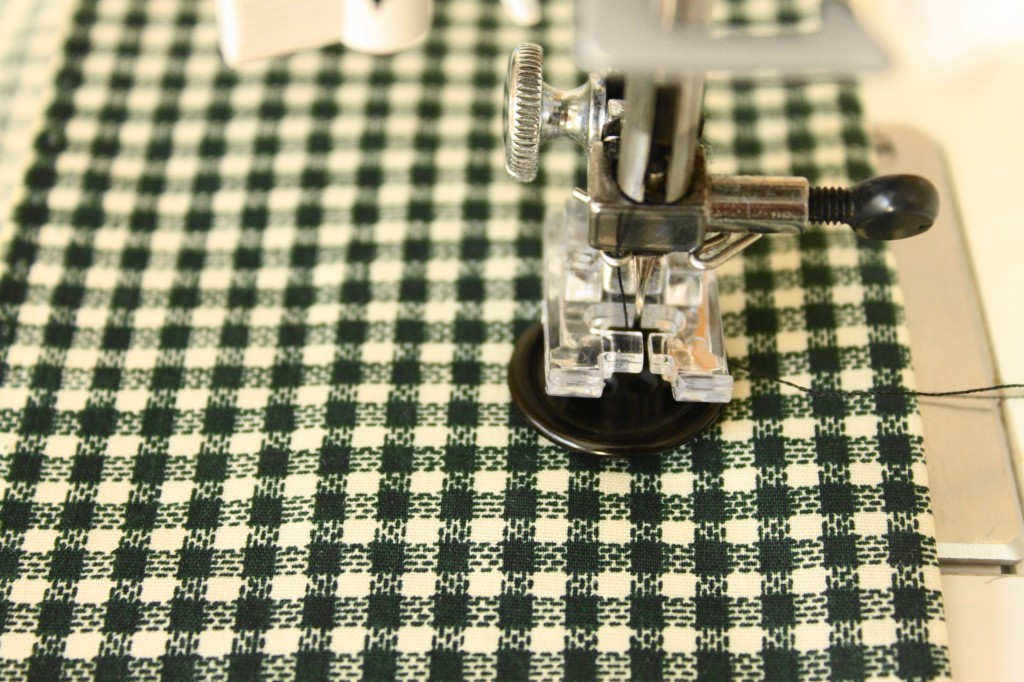Sew a Button by Machine
