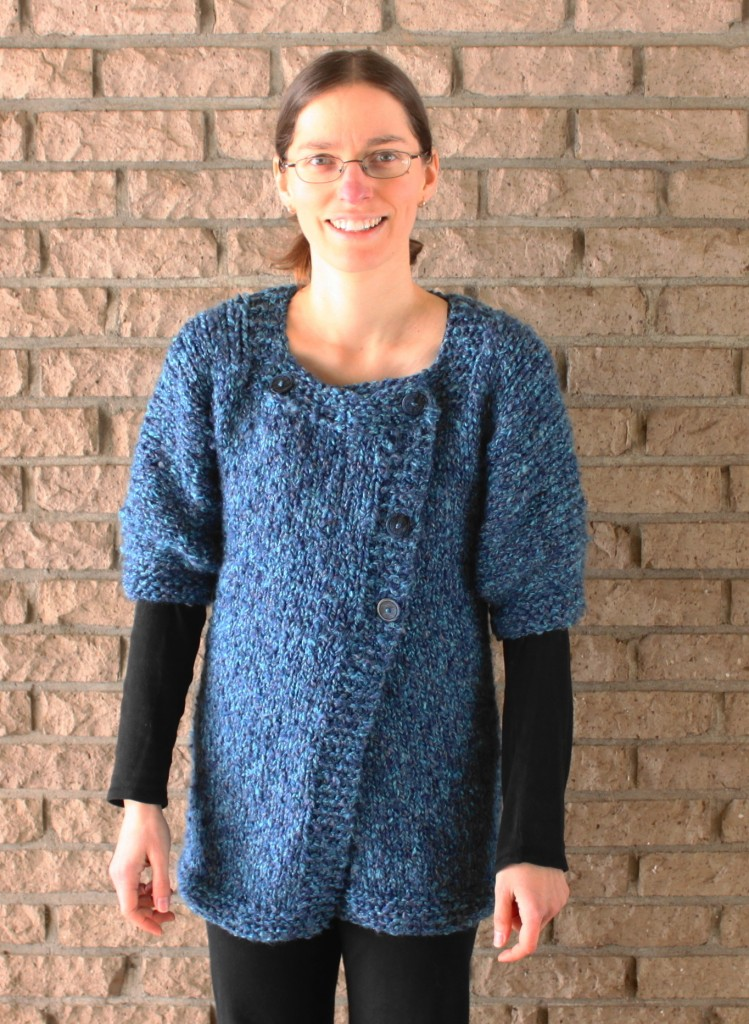 My first knit sweater!
