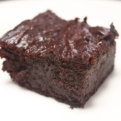 Fudgy, Gluten-Free, Honey-Sweetened, Brownies