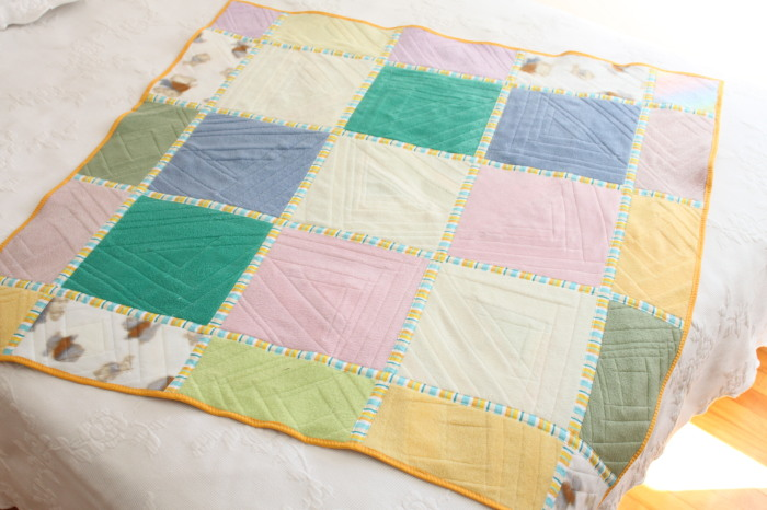 Quilt Back quilt-as-you-go