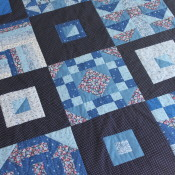 Multi-Generational Quilt: A posthumous collaboration with my grandmother