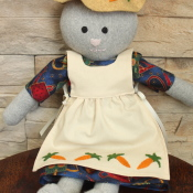 Creating Miss Carrots, or How a Stuffed Toy Comes to Life