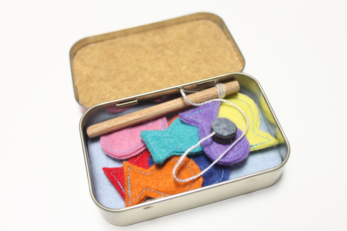 Travel Fishing Game in a Tin