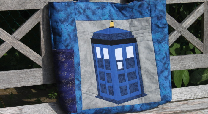 Doctor Who & Wonder Woman Beach Bags