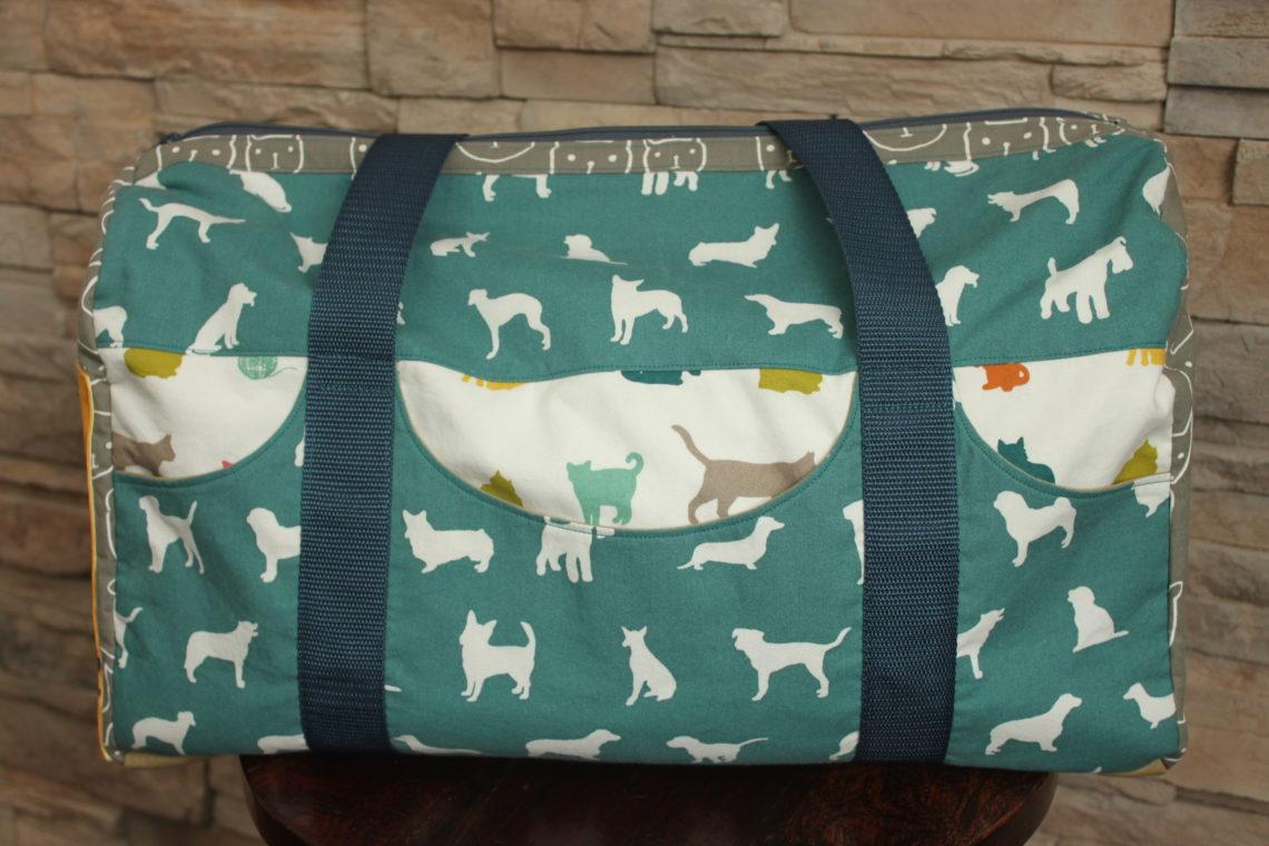 A Pet Lover S Duffle Road Tripper Bag